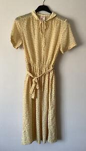 Vintage St Michael Marks And Spencer Dress Size 16