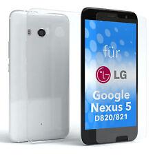 Schutzhülle + Schutzglas f. LG Google Nexus 5 - D820 / D821 Panzer Cover