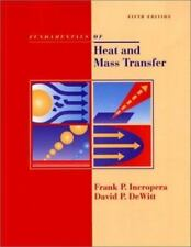 Fundamentals Of Heat And Mass Transfer by Frank Incopera/David DeWitt 5th ed.
