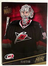 CAM WARD 2013-14 Panini Prime Base /299 Carolina Hurricanes