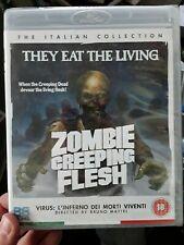 Zombie Creeping Flesh - Hell of the Living Dead (Blu-ray, REGION B PLEASE READ)