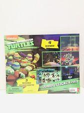 Nickelodeon TMNT Reusable Jumbo Sticker Pad Sealed!