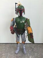 """VINTAGE Star Wars BOBA FETT 12"""" Action Figure All Original&Complete 1979 KENNER"""