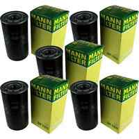 5x MANN-FILTER Ölfilter WP 1169 Oil Filter