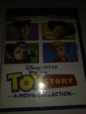 Toy Story 4-Movie Collection (1, 2, 3, 4) (Blu-Ray, Dvd, Digital, 2021) New