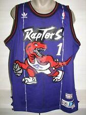 NBA #1 TRACY McGRADY TORONTO RAPTORS SHIRT ADIDAS SIZE XL