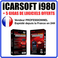 Valise Diagnostique MERCEDES & SPRINTER - iCarSOFT I980 - STAR C3 / C4 Diag OBD