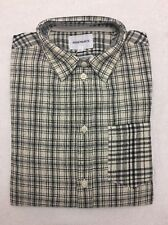 Norse Projects Plaid Button Up Anton Cotton Linen Check XS Extra Small
