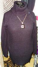 Damen-Pullover & -Strickware mit Rollkragen alle Muster in Langgröße