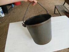 Vintage Milk Bucket Pail Heavy Duty Superior Made In Usa 3 Gallon