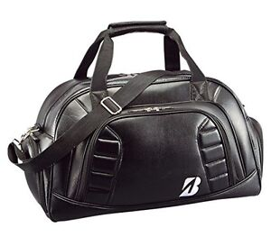 Bridgestone Boston Bag BBG520 BK Black White Handbag Japan Import Fast Shipping