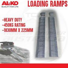ALKO Heavy Duty Steel Loading Ramps 1830mm x 225mm Pair