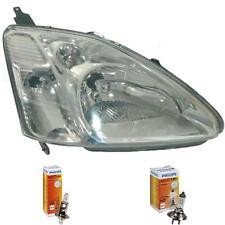 Scheinwerfer rechts für Honda Civic Sedan/Coupe 03.01-09.03 H1/H7 mit Motor
