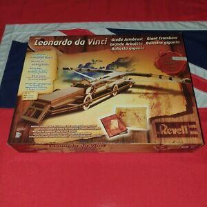 Leonardo Da Vinci Giant Crossbow Ballista Siege Weapon Revell Wooden Model Kits