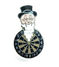 More details for brewery  wm. youngers beer man on dartboard buttonhole enamel badge