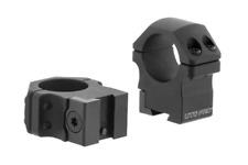 Leapers UTG Pro POI MEDIUM 9-11mm Dovetail Rifle Scope Mount Rings RDU012515