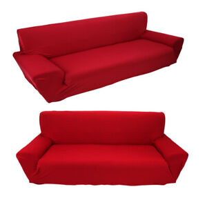 Full Stretch Sofa Covers Couch Slipcover Elastic Protector For 3