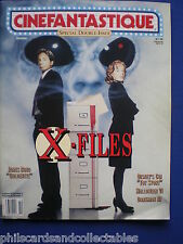 Cinefantastique magazine - Oct  '95   X Files issue