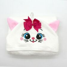 Lilivo Baby Towels & Washcloths | Super Soft, Large, Organic (Cute Cat)