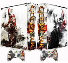 Pop God Of War X Box 360 Console Controller Protector Vinyl Skin Sticker Decals