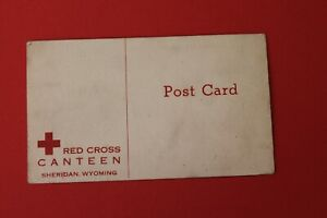 Red Cross Canteen, Sheridan, Wyoming - unposted