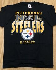 Pittsburgh Steelers Central Division VINTAGE 1992 NFL Shirt Made in USA