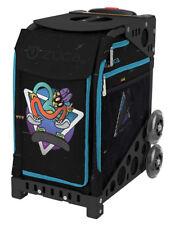 Zuca Bag Kickflip Insert & Black Frame w/Nonflashing Wheels - Free Seat Cushion