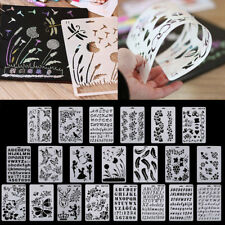 Template Painted Hollow Scrapbooking Decor Art Wall Craft Drawing Making New