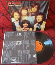 THE HOLLIES **Russian Roulette** VERY RARE & UNIQUE Spain COVER LP 1977 w/INSERT