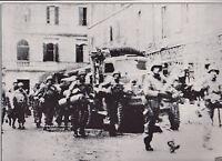 American Reinforcements March Through Anzio WWII Dispatch Photo News Service