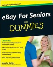 eBay For Seniors For Dummies  Collier, Marsha  Good  Book  0 Paperback