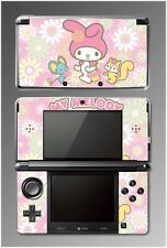 My Melody and Friends Bunny Kitty Video Game Vinyl Decal Skin for Nintendo 3DS