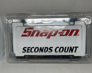 Snap-On Wrench License Plate Holder Hardware (SSX11T100) NIOP Think Father's Day