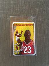 1985🔥 Michael Jordan RC Prism Jewel Vending Machine Sticker 🔥