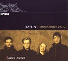 Coup d'Quartette op.77 - AMATI Quatuor Zurich CD Nouveau Haydn, Joseph