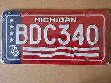Targa Americana MICHIGAN USA BDC340 31x16 cm - Più basso di EBAY