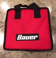 New Bauer 20V Lith Ion Cordless Drill Impact Canvas Tool Bag 10x10x6