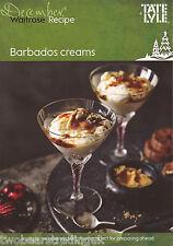 Recipe Card: Barbados Creams (Waitrose)