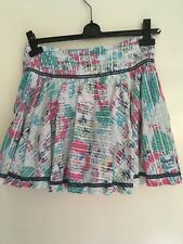 Fatface White Pink And Turquoise Skirt 9 Years