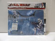 Star Wars Clone Trooper Dry Erase Board w/ Marker (9799-1 #34) U22