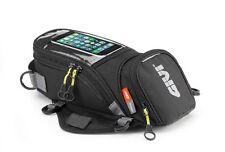 Borsa da serbatoio moto Givi Easy Bag 6LT magnet. Con cinghia tracolla nero