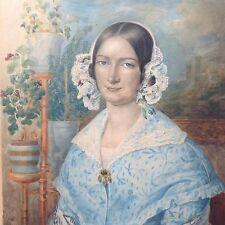 Gemälde Elisabeth Rüpplin von Keffikon Hofmaler Württemberg MG Stapleaux Belgien