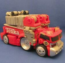 Tonka - Hasbro Electronic 1-2-3 Transformers Rescue Roy Fire Truck