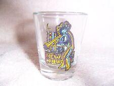 New Orleans Souvenir Neon Jazz  Single Shot Glass