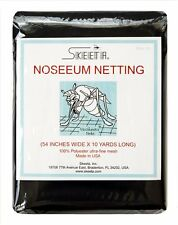 "Mosquito no-see-um netting/net 54"" wide x 10 yards long, color slate, by Skeeta"