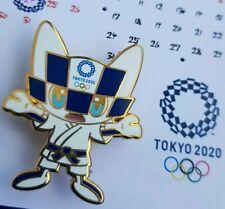 Olympic Tokyo 2020 mascot Miraitowa judo pin