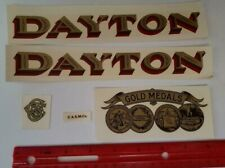 5 PIECE CANDY SCALE DECAL SET DAYTON GOLD MEDALS ANTIQUE SCALE & COIN #5DS