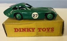 """DINKY TOYS 163 BRISTOL 450 SPORTS COUPE .GOOD IN RARE EARLY """"NON PICTURE """" BOX"""