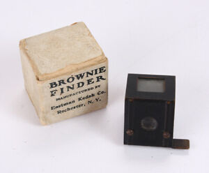 KODAK FINDER FOR BROWNIE BOX CAMERAS, IN WORN ORIGINAL BOX/cks/215557