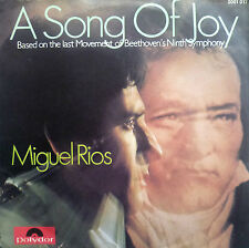 """7"""" 1970 RARE IN MINT- ! MIGUEL RIOS : A Song Of Joy"""